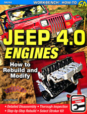 JEEP 4.0 HOW TO REBUILD MODIFY ENGINES BOOK SHOP MANUAL SERVICE REPAIR SHEPARD