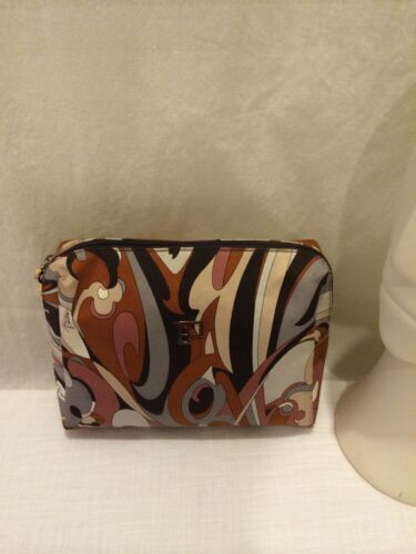 Vintage Emilio Pucci Cosmetic Clutch Handbag Purse