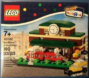 LEGO-train-station-bricktober-exclusive-a-TOYS-R-US-Set-Numero-40142-Neuf
