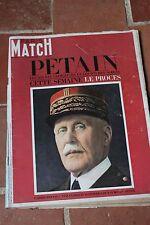11 juin 1966 Paris match 896 pétain verdun rochas perrier balenciaga cady