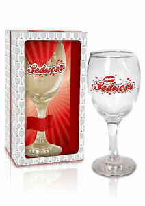 Image Is Loading WINE GLASSES 034 SEDUCER FUNNY GIFT FOR