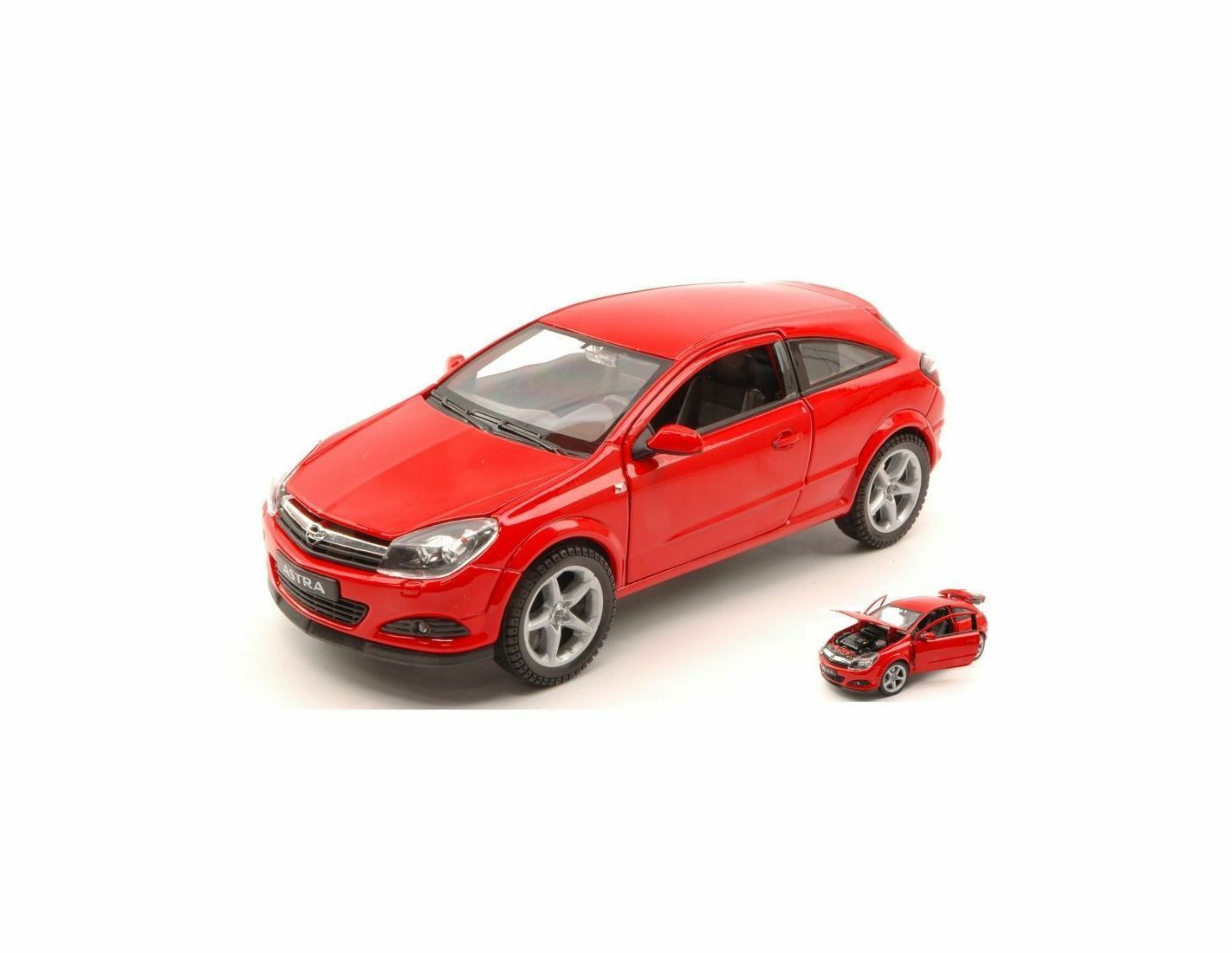 Welly WE2563R OPEL ASTRA GTC 2005 rouge 1 18 Modellino