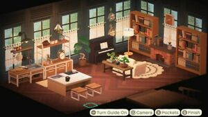 Animal Crossing New Horizons Kitchen/ living room | eBay on Living Room Animal Crossing New Horizons  id=63683