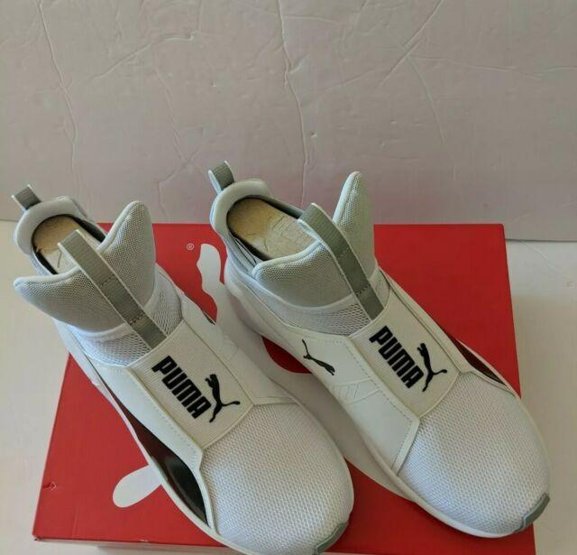 NWB Puma Women's FIERCE CORE TRAINING Shoes Puma WhiteBlack Sz(8M)188977 11 b