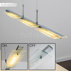 Lampada Sospensione LED design Plafoniera vetro per salone e cucina ...