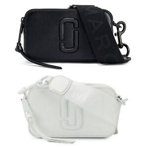 Details about MARC JACOBS The Snapshot DTM Camera Bag Women Cross-body  Small Handbag