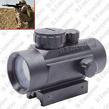 Tactical Hunting 1x30mm Green Red Dot sight Scope