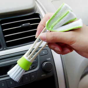 New-Handy-Car-Air-Conditioning-Vent-Blinds-Brush-Cleaning-Duster-Cleaner-Y9I9