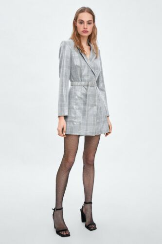Grey Robe Light style Gorgeous Absolutely taille sequins blazer S à Dress TlJc3F1K