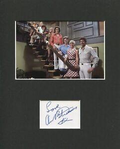 Ann-B-Davis-The-Brady-Bunch-Alice-Signed-Autograph-Photo-Display-With-Cast