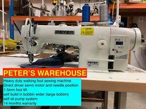 INDUSTRIAL WALKING FOOT SEWING MACHINE (PETER KL0303)