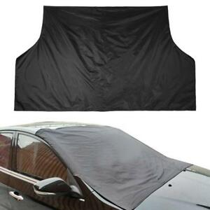 Car-Magnetic-Windshield-Windscreen-Cover-Snow-Ice-Frost-Wind-Winter-Protector