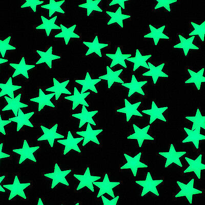 4m Glow In The Dark Mini Glowing Stars Wall Ceiling Night Stickers Galaxy Ebay