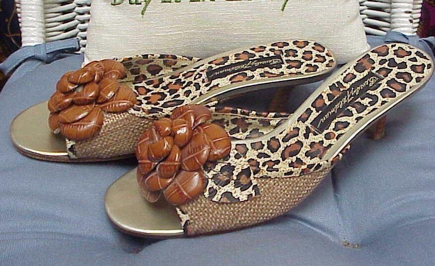 BEVERLY sandals/slides/mules, FELDMAN designer open toe sandals/slides/mules, BEVERLY sz. 7 1/2 M d20ae8