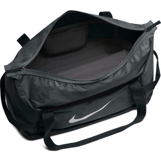 e8f63f5d7f1 Nike Official Club Team Duffel Bag Holdall Black White Gym School 48 ...