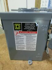 Square D D221nrb Rainproof Fused Safety Switch Disconnect 30 Amps 2p 240v