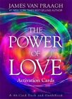 The Power of Love Activation Cards by James Van Praagh 44 Card Deck Guidebook