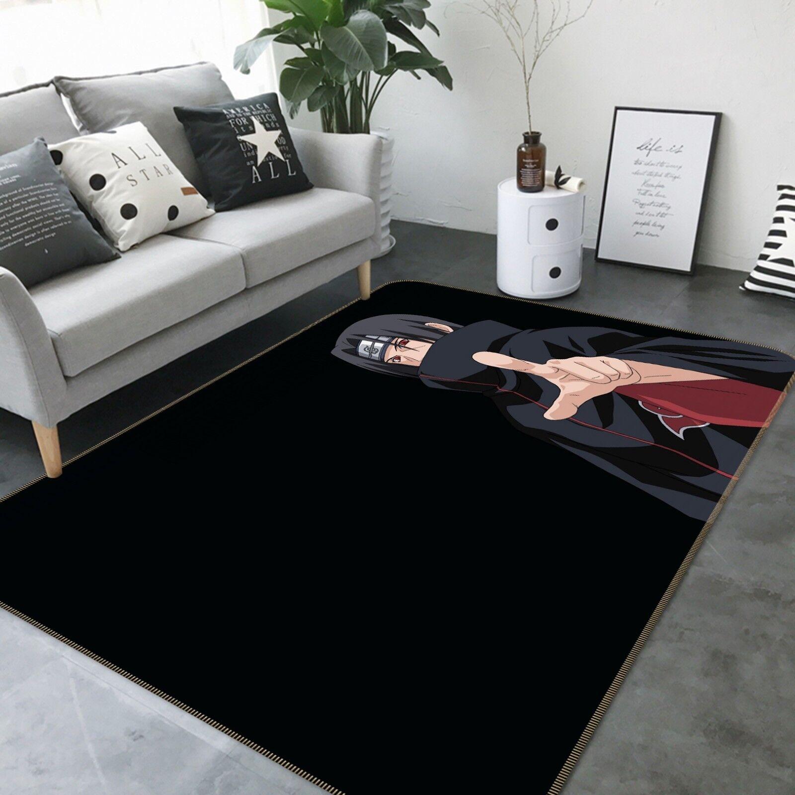 3D NARUTO 186 Japan Anime Game Non Slip Rug Mat Elegant Photo Carpet