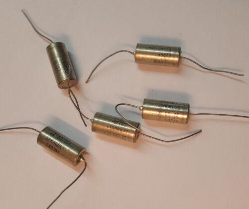 FREE SHIP  Sprague CS18B  22uf 50v Tantalum capacitor Axial lead NOS Lot of 3
