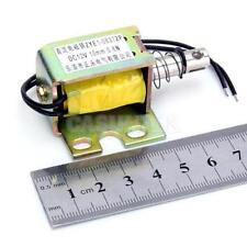 DC 12V Push Type Open Frame Actuator Solenoid Electromagnet 0.8N ZYE1-0837ZP (1)