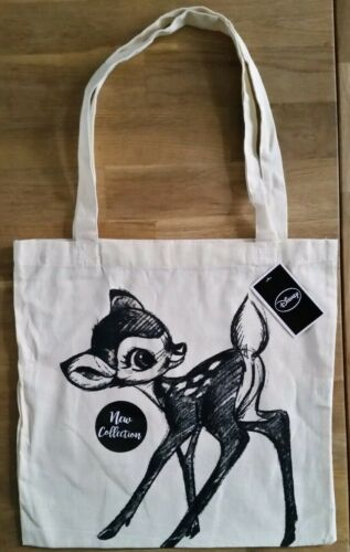 TAG Nuovo di zecca con Disney Canvas Tote Bag-Bambi