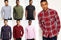New Mens Superdry Shirts Various Styles & Colours