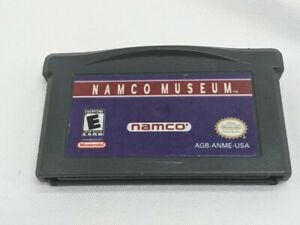 Namco Museum NINTENDO GAMEBOY ADVANCE GBA GAME Tested + Working Authentic!