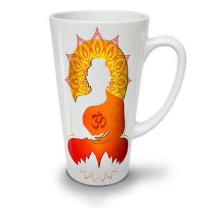 Buddha Mandala Zen NEW White Tea Coffee Latte Mug 12 17 oz | Wellcoda
