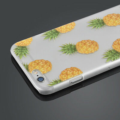 Luxury 3D Pineapple Design Case Covers For Apple iPhone 5/5S/5C/6