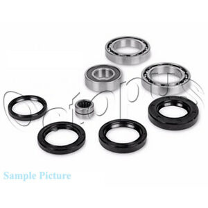 Fits-Yamaha-YFM400FA-Kodiak-4x4-ATV-Bearing-amp-Seal-Kit-Rear-Differential-2000-04