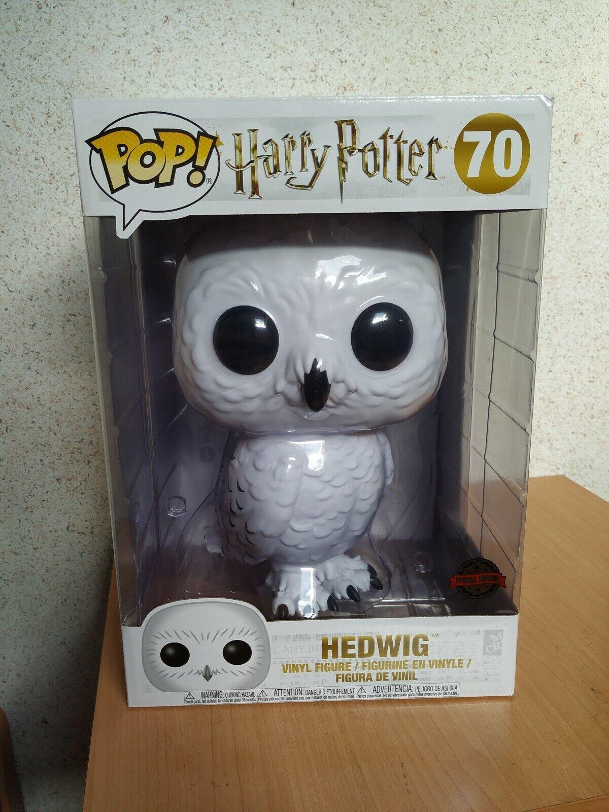 Funko pop Hedwig 10  súper Talla harry potter