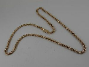 9ct-GOLD-ROUND-BELCHER-NECK-CHAIN-NECKLACE-21-034-LONG-TIGHT-LINK-BELCHER-CHAIN