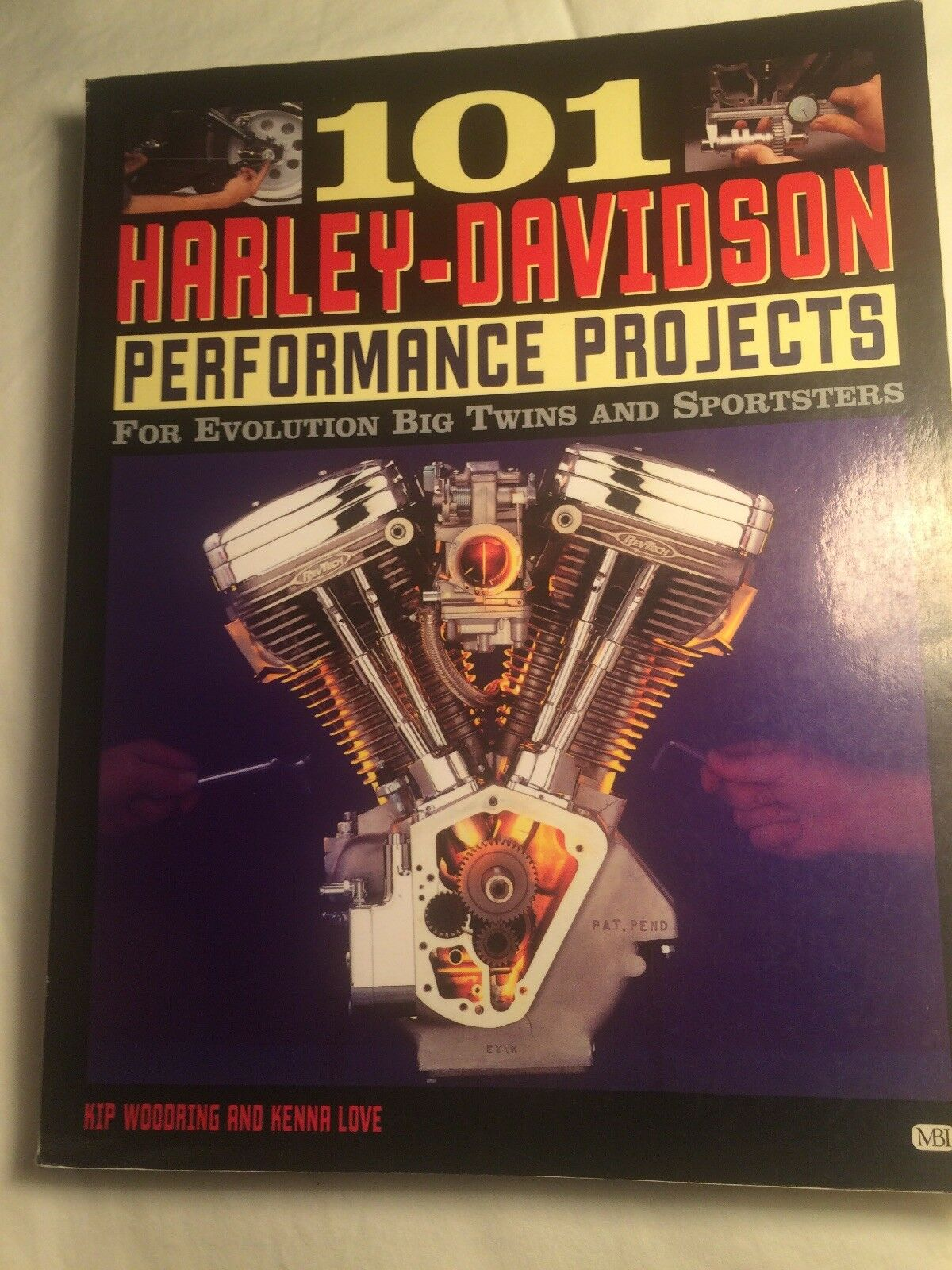 Motorbooks Workshop: 101 Harley-Davidson Performand Projects : For  Evolution Big Twins and Sportsters by Kenna Love and Kip Woodring (1998,  Paperback, ...