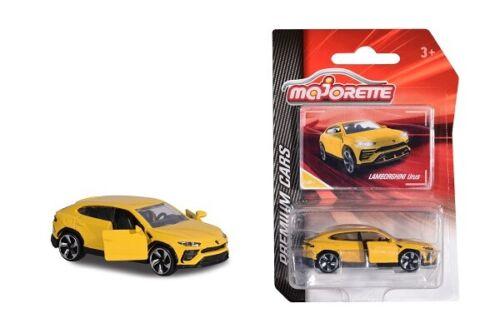 Majorette 212053052q10-Premium Cars-Lamborghini uruguayos-amarillo-nuevo