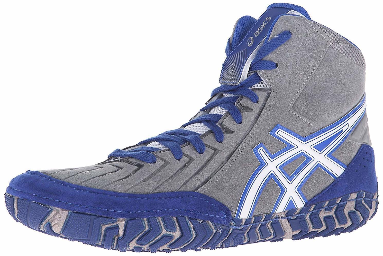 ASICS 3 Mens Aggressor 3 ASICS Wrestling Shoe, - Choose SZ/Color 296718