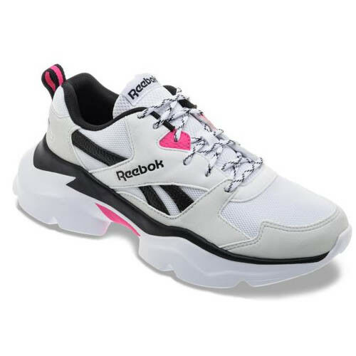 Reebok DV8335 Royal Bridge 3.0 Running shoes grey white pink sneakers