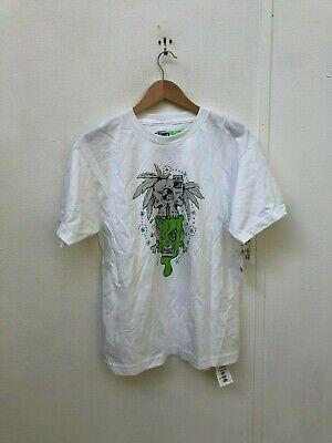 2019 Nuovo Stile Vans Off The Wall Kid's Logo T-shirt-xl-bianco - Nuovo- Prestazioni Superiori