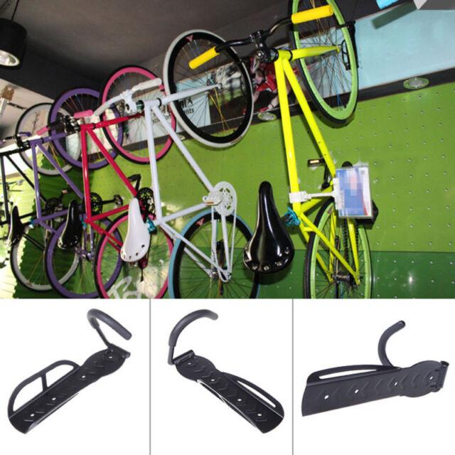 4pc Bicycle Bike Cycling Wall Mount Hook Hanger Garage Storage Holder Rack Stand
