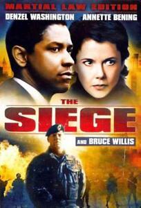 THE SIEGE NEW DVD