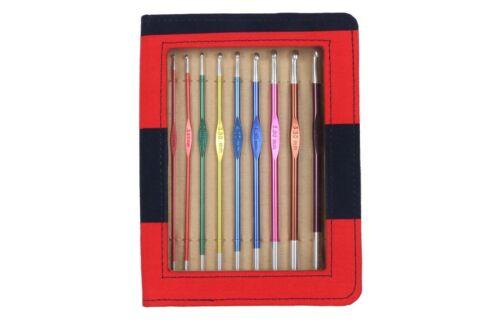 Knit Pro Zing Häkelnadel-Set mit 9 Nadeln 47480