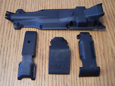 1/10 Traxxas E-Revo Skid Plates Front Center Rear Skids Transmission Plate Cover