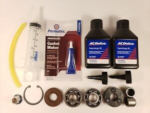 Jackson Racing DASC Supercharger Nosedrive Rebuild Kit + Needle Bearings Sebring