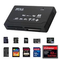 Todo En 1 Multi Memoria Tarjeta Usb V2.0 Reader Sd Sdhc Mini Micro M2 Mmc Xd Cf