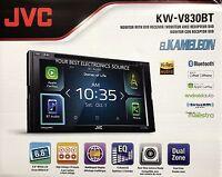 Jvc Kw-v830bt 6.8 2-din Bluetooth In-dash Dvd/cd/am/fm/ W/ Apple Car Play