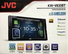 """NEW JVC KW-V830BT 6.8"""" 2-Din Bluetooth In-Dash DVD/CD/AM/FM/ w/ Apple Car Play"""