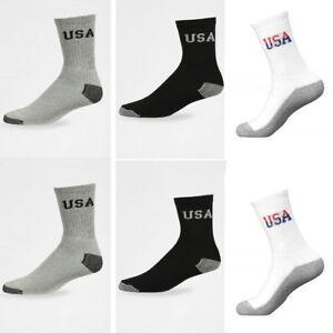 Women Men 11 Athletic Crew Socks
