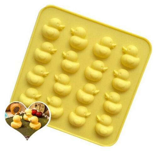 Cute Duck Silicone Mold Diy Chocolate Ice Biscuit Candy Mould NPLS
