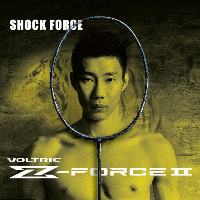 YONEX Voltric Z-Force 2 Badminton Racquet , VTZF2 3U5, 3U5, 3U5, Your Choice of String beb659
