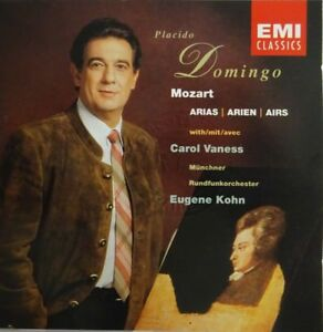 Placido-Domingo-W-Carol-Vaness-Mozart-Arias-Domingo-Kohn-CD-ALBUM