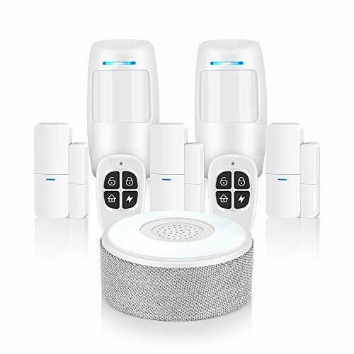 Thustar système de sécurité Wifi Système d/'alarme 8 Pièce Kit Avec App Push and Calling
